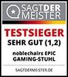 Gaming Stuhl Testsiegel