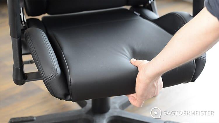 Gaming Stuhl Test Verarbeitung