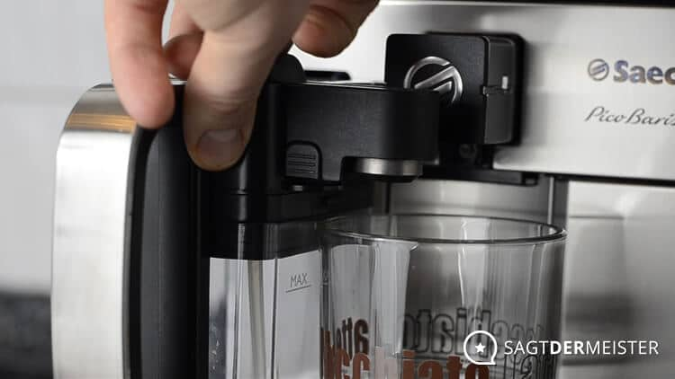 Saeco PicoBaristo HD8927 Kaffeevollautomat Milchkaraffe