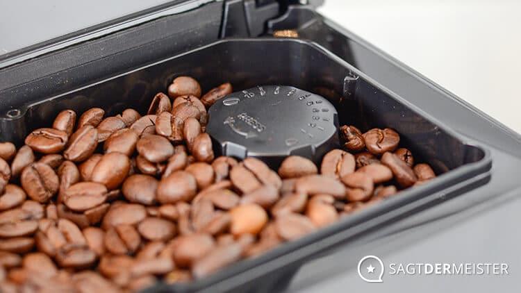 Saeco PicoBaristo HD8927 Kaffeevollautomat Lautstärke Mahlgrad