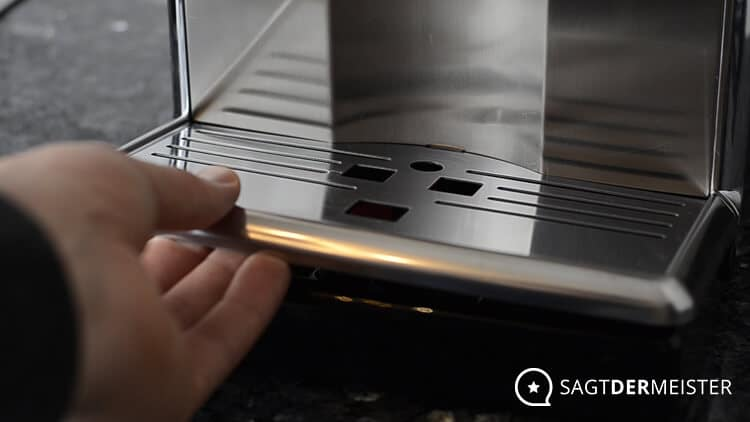 Saeco PicoBaristo HD8927 Kaffeevollautomat Verarbeitung