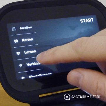 Besonderheiten Touch Display
