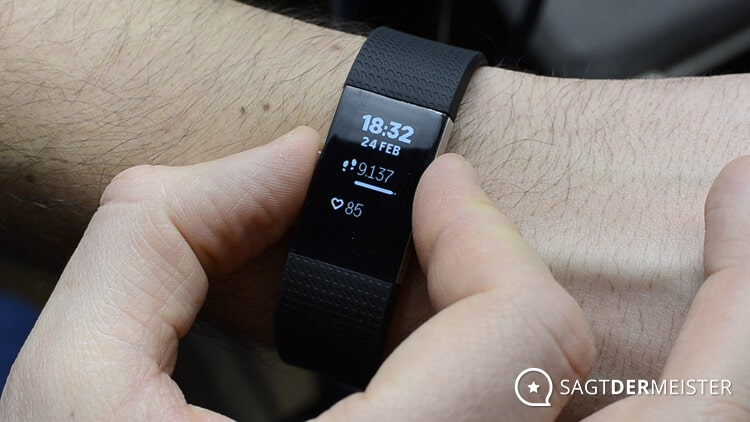 Fitbit Charge 2 Bedienung