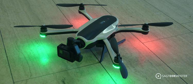 Karma Drohne frontal