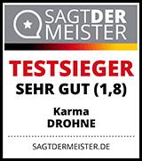 Testergebnis Karma Drohne