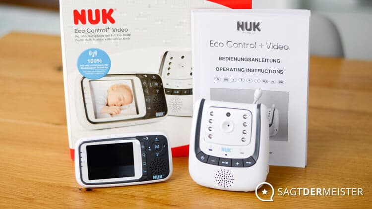 NUK Eco Control+ Video Lieferumfang