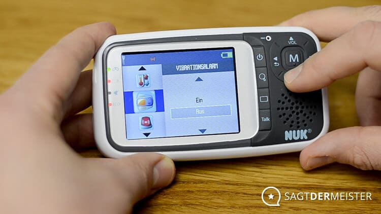 NUK Eco Control+ Video Vibration