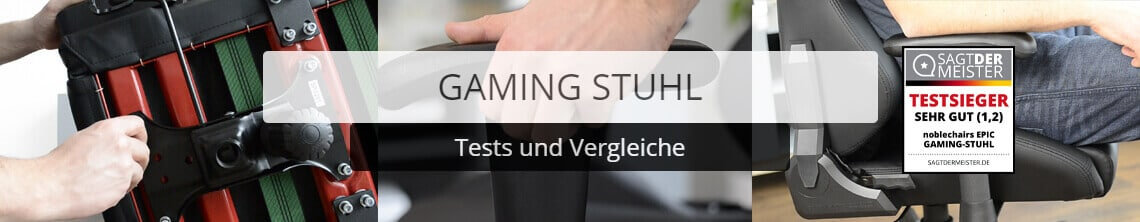 Gaming Stuhl Test