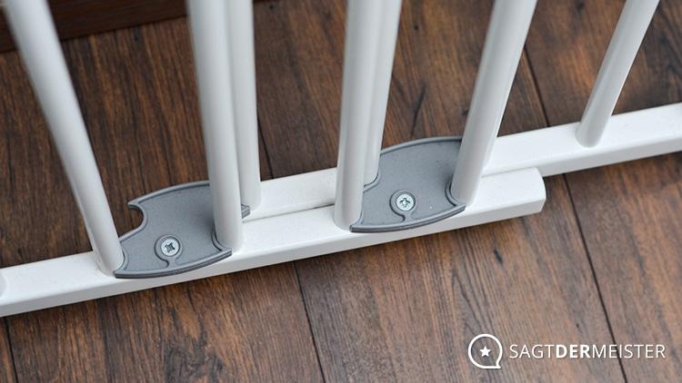 Geuther Treppenschutzgitter Verstellbarkeit