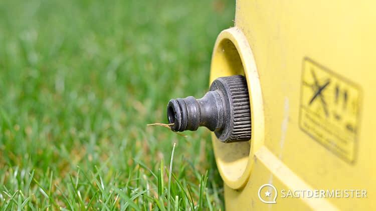 Hochdruckreiniger Kärcher Wasseranschluss