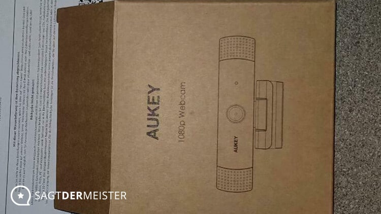 AUKEY Webcam 1080p Verpackung