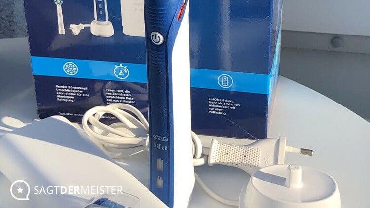 Oral-B elektrische Zahnbürste PRO EXPERT+ Test