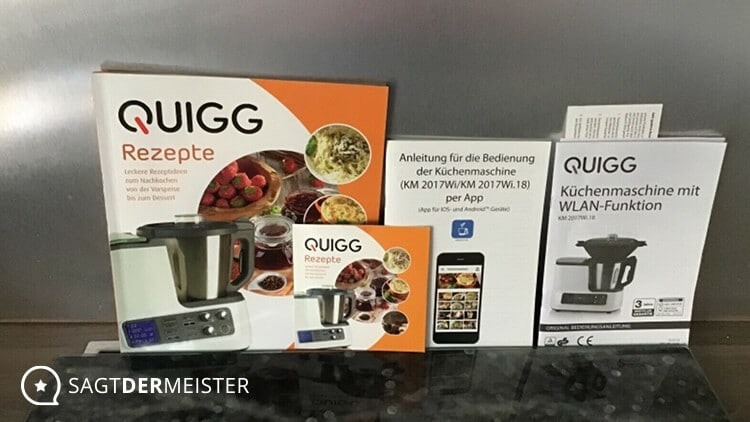 QUIGG Küchenmaschine Rezepte