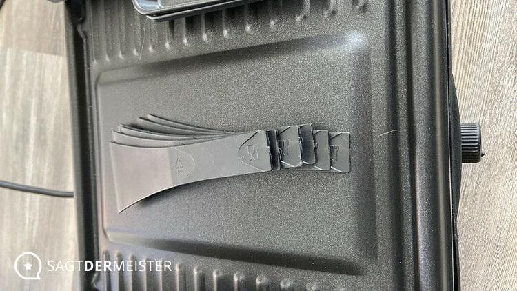 SILVERCREST Raclette Grill Kunststoffspatel