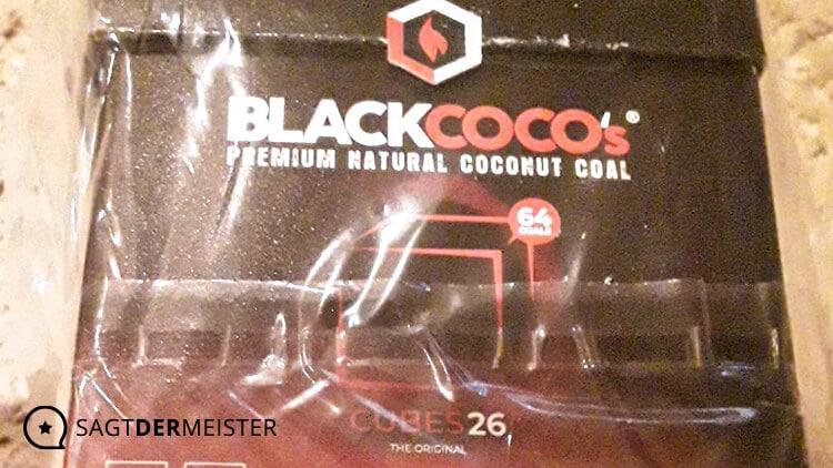 Shisha-Kohle aus natürlichen Kokosnussschalen