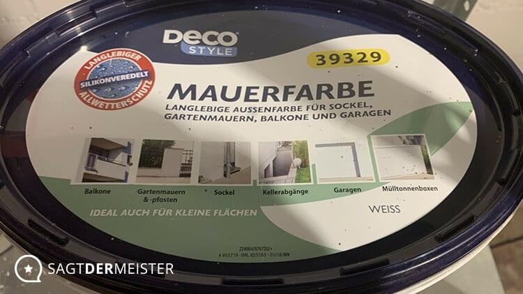 DECO STYLE Meisterweiß Behälter