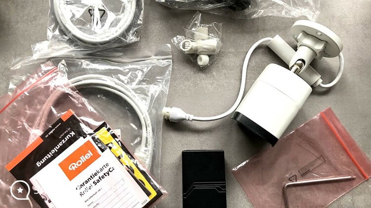 Rollei SafetyCam 200 Lieferumfang