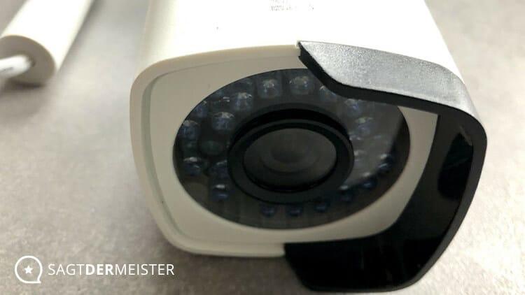Rollei SafetyCam 200 Überwachungskamera Linse