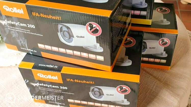 Rollei SafetyCam 200 Verpackung