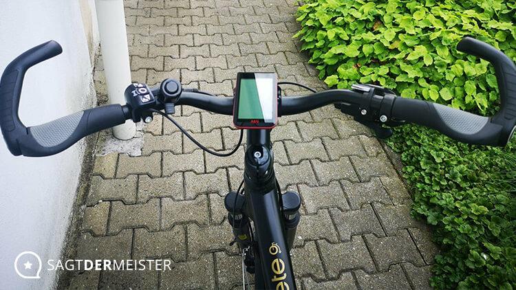 PROPHETE Trekking E-Bike 28 Zoll Lenkrad