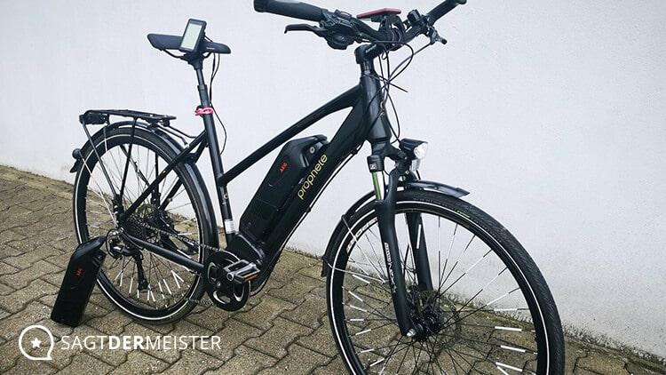 PROPHETE Trekking E-Bike Zubehör